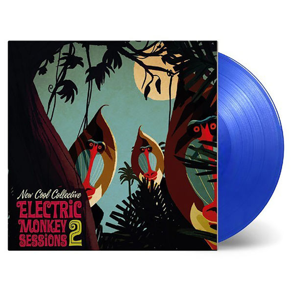 New Cool Collective: Electric Monkey Sessions 2 Transparent Blue Vinyl