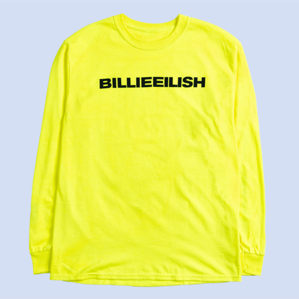 Billie Eilish: Yellow Dont Smile At Me Longsleeve