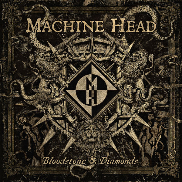 Machine Head: Bloodstone And Diamonds: Gatefold Sleeve