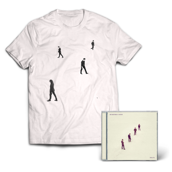 Mumford & Sons : Delta CD & T-Shirt Bundle