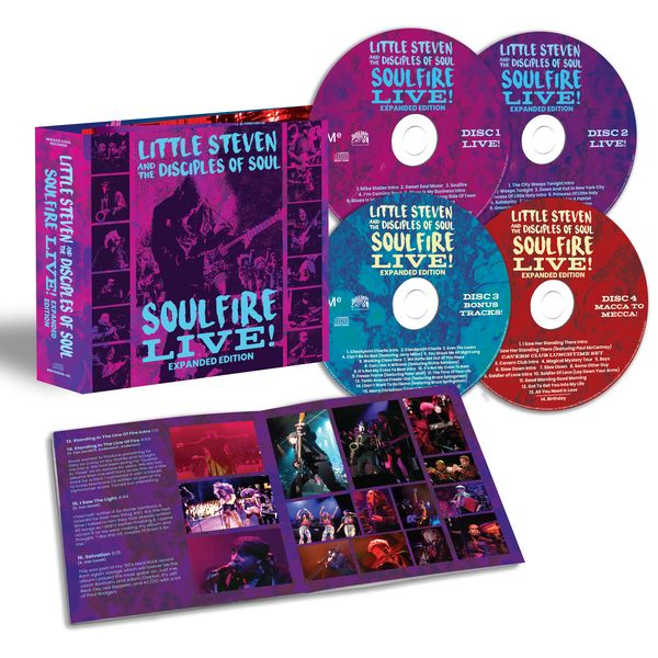 Little Steven: Soulfire Live! CD Set