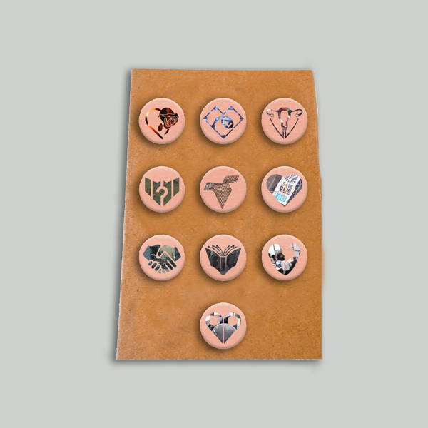 Mystery Jets: Pin Badge