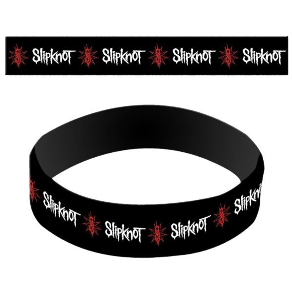 Slipknot: Logo Flag Wristband