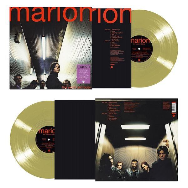 Marion: This World and Body: Translucent Gold Vinyl Signed Exclusive