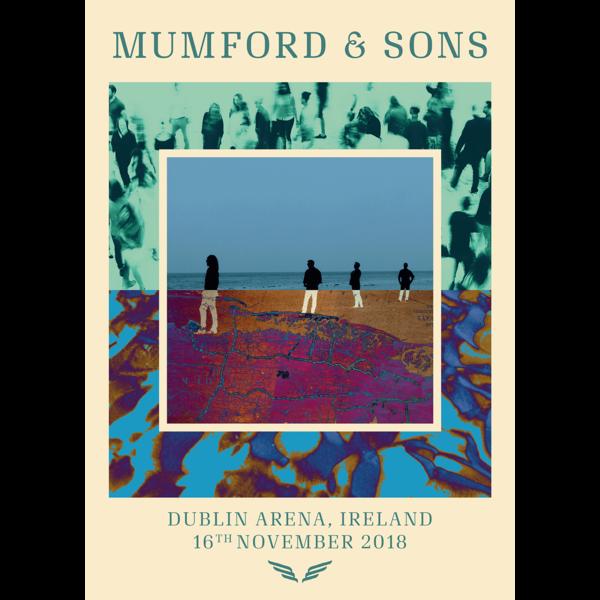 Mumford & Sons : Dublin Delta Tour Print