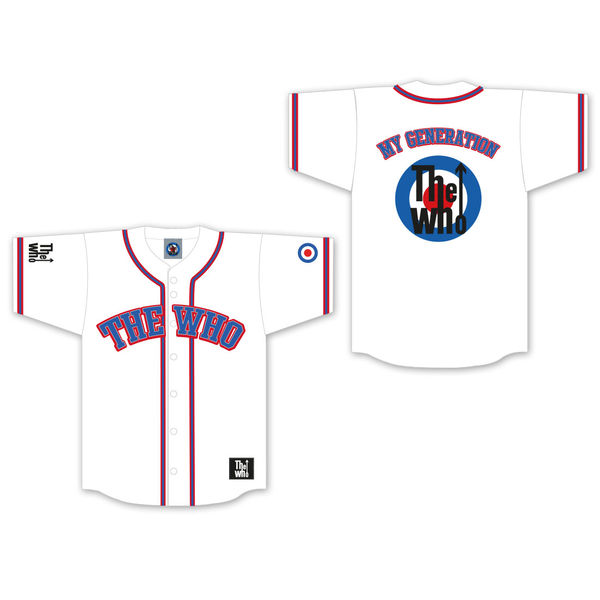 The Who: Collegiate Baseball Jersey