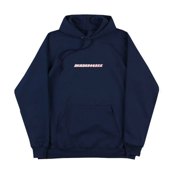 Beabadoobee: Navy Your Photos Suck UK & IE Tour Embroidered Hoodie