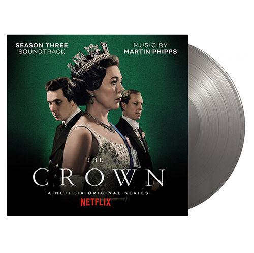 Original Soundtrack: The Crown Season Two: SOV UK Exclusive Limited Silver Vinyl
