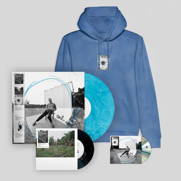 Ben Howard: Collections From The Whiteout: Signed Exclusive Deluxe LP, CD + Jump Hoodie (Blue)