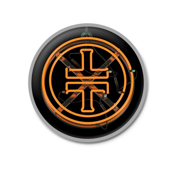 takethat: TT Orange Logo Enamel Pinbadge