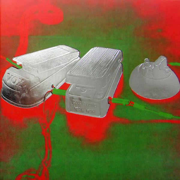 Spiritualized: Fucked Up Inside: Embossed Foil Block Sleeve