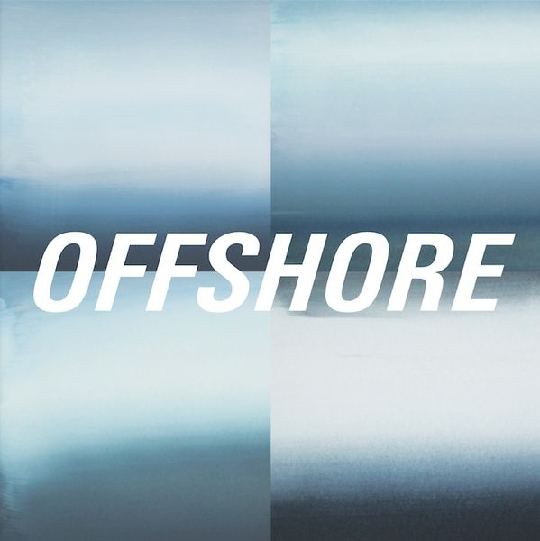 Offshore: Offshore: Blue + White Marbled Vinyl