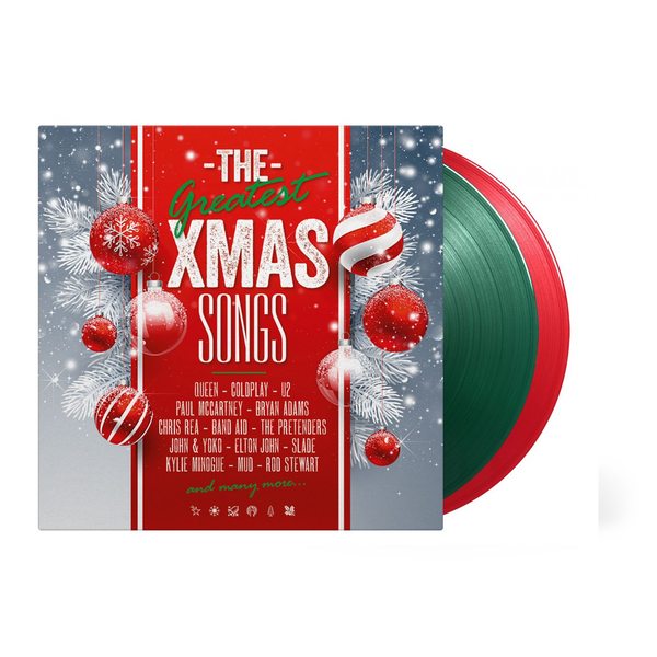 Various Artists: Greatest Xmas Songs: Limited Edition Transparent Green & Red Vinyl