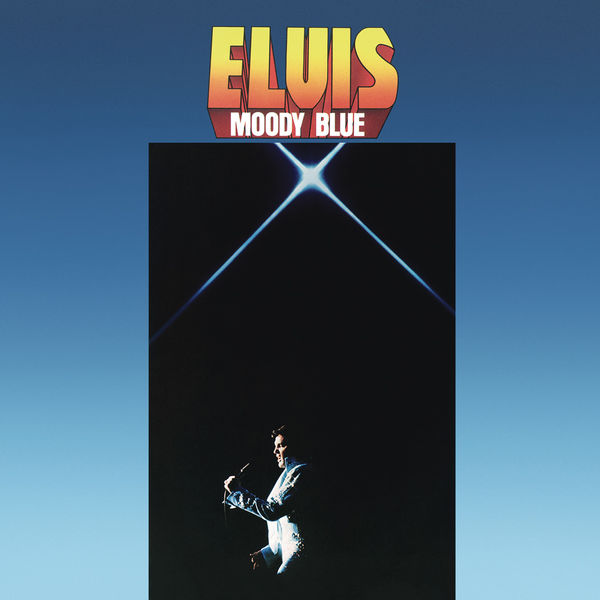 Elvis Presley: Moody Blue: 40th Anniversary Clear Blue Vinyl
