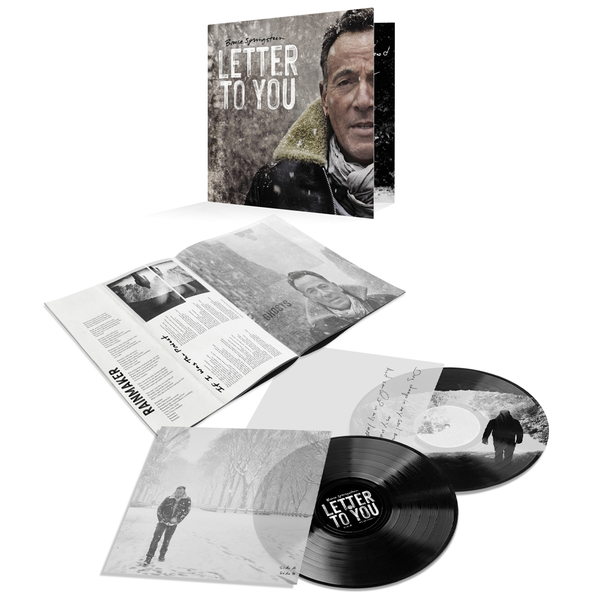 Bruce Springsteen & The E Street Band: Letter To You: Double Black Vinyl LP + Etching