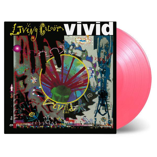 Living Colour: Vivid: Limited Edition Pink Transparent Vinyl