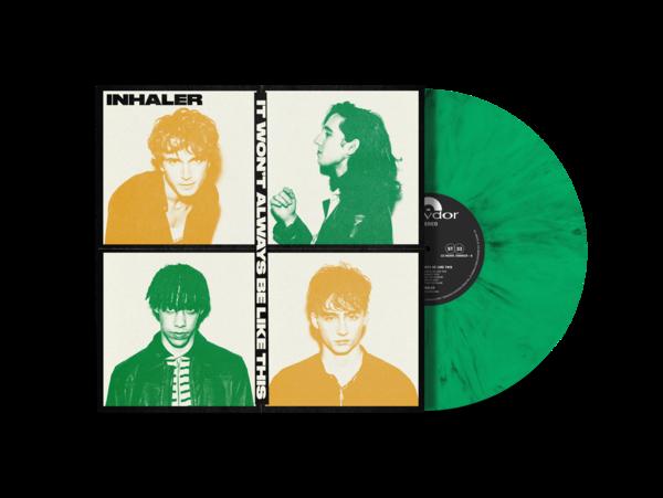 Inhaler: It Won't Always Be Like This - Limited Edition Irish Green Vinyl