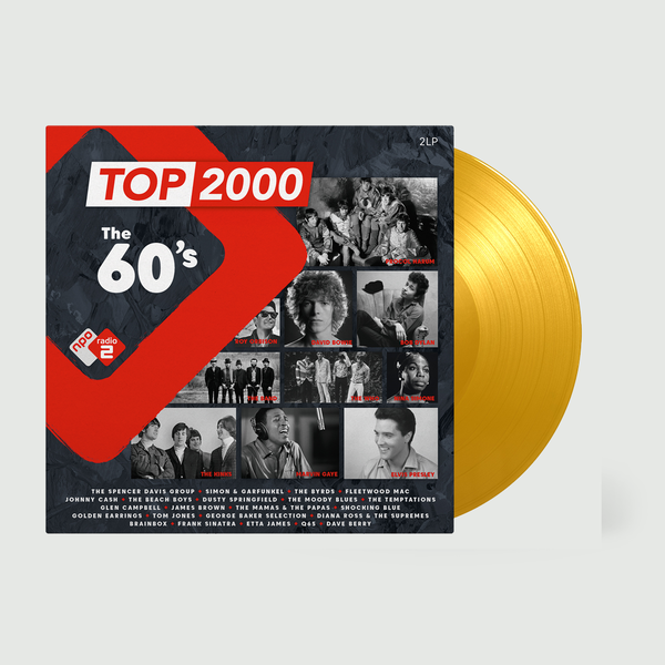 Various Artists: Top 2000 - The 60s Radio 2: Limited Edition Gold Vinyl