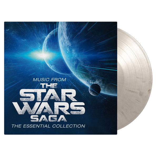 Robert Ziegler: Music From The Star Wars Saga (OST) - The Essential Collection: Limited Edition White & Black Vinyl
