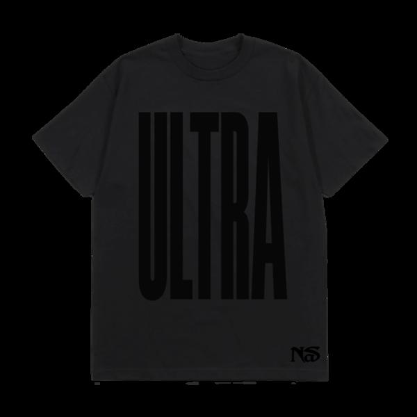 Nas: ULTRA BLACK TONAL TEE