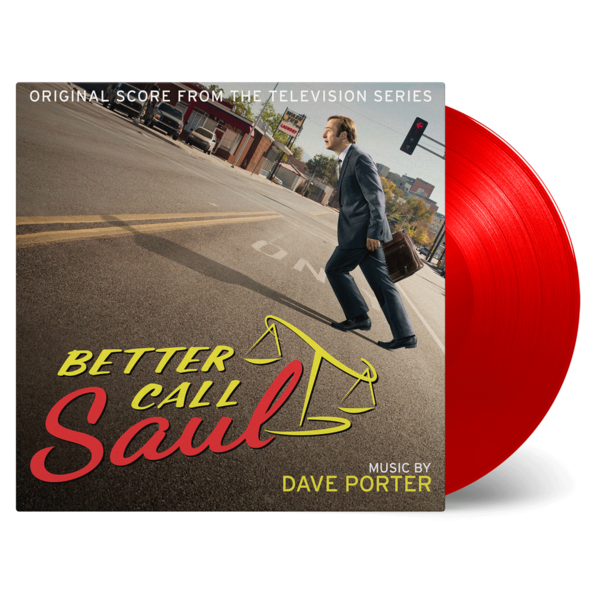 Dave Porter: Better Call Saul: Numbered Red Etched Vinyl