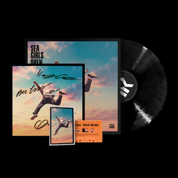 Sea Girls: Open Up Your Head Vinyl Bundle