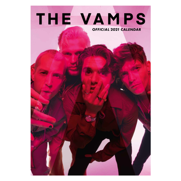 The Vamps: OFFICIAL 2021 CALENDAR
