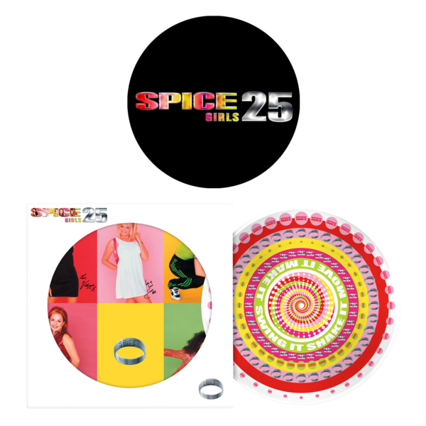 Spice Girls: SPICE - 25TH ANNIVERSARY (ZOETROPE PICTURE DISC) AND SLIPMAT