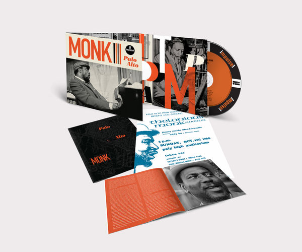 Thelonious Monk: PALO ALTO CD