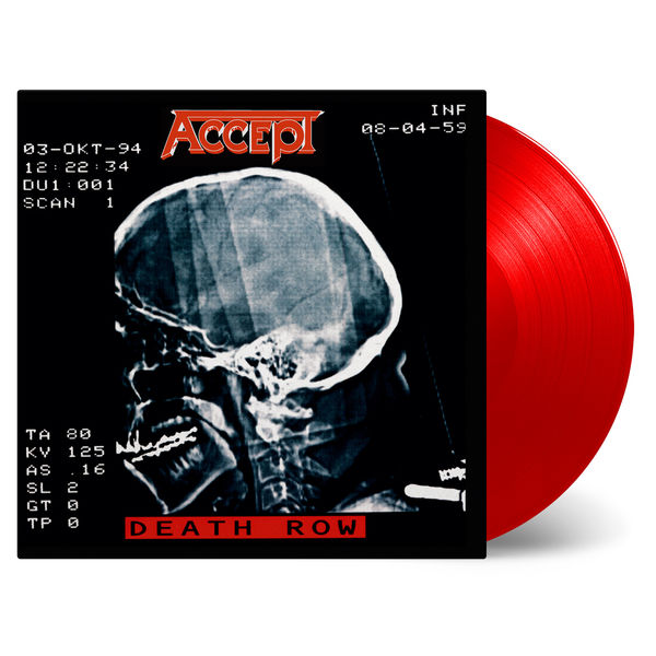 Accept: Death Row: Red Numbered Vinyl