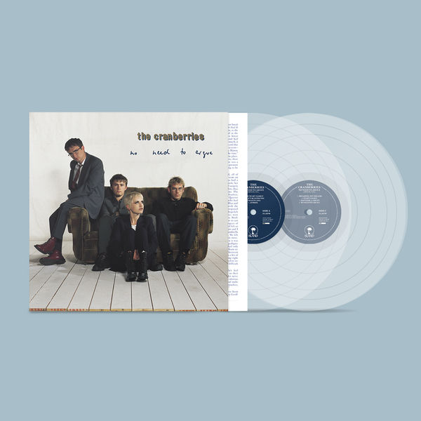 The Cranberries: No Need to Argue: Exclusive Gatefold Transparent Vinyl