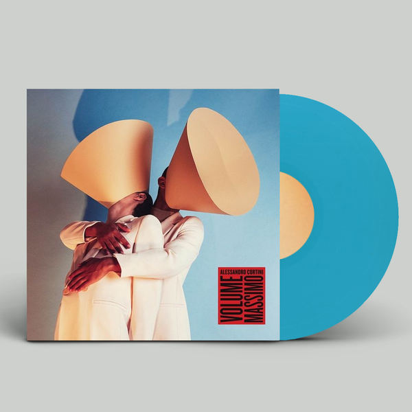 Alessandro Cortini: VOLUME MASSIMO: Limited Edition Translucent Turquoise Vinyl