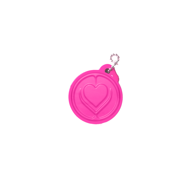 Lady Gaga: KINDNESS RULES PUFFY KEYCHAIN