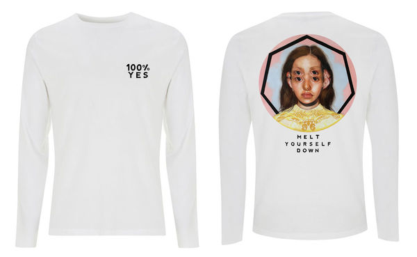 Melt Yourself Down: 100% YES Longsleeve T-shirt