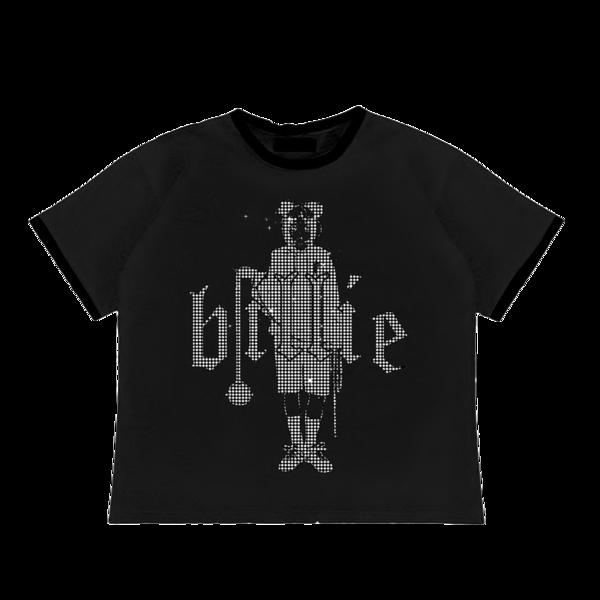 Billie Eilish: Leave Me Alone Rhinestone T-shirt