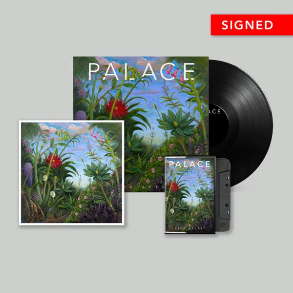 Palace: Vinyl, Cassette & Signed Print