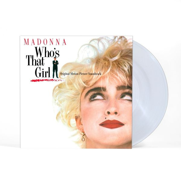 Madonna: Original Motion Picture Soundtrack - Who's That Girl: Limited Edition Clear Vinyl