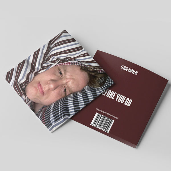 Lewis Capaldi: Before You Go – Limited Edition CD Duvet Cover