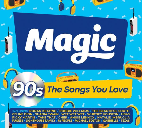 Various Artists: Magic 90s – The Songs You Love CD