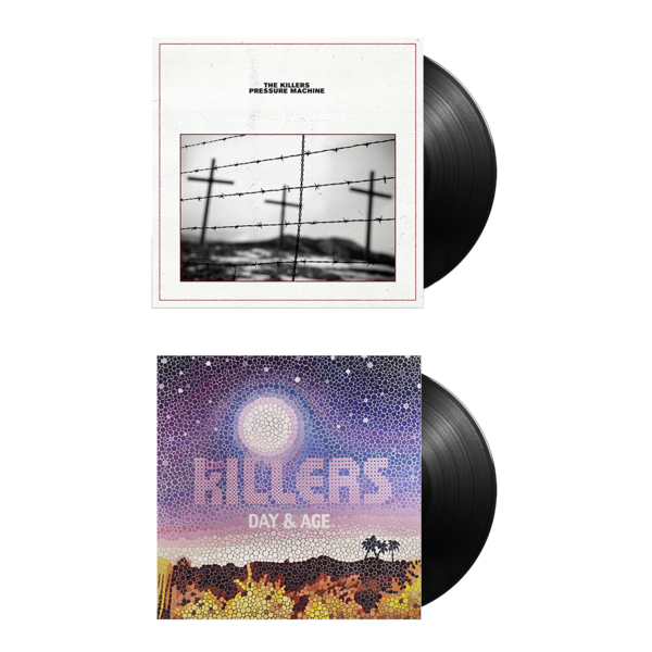 The Killers: PRESSURE MACHINE + DAY & AGE Vinyl Bundle