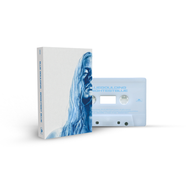Ellie Goulding: Brightest Blue Frosted Ice Recycled Plastic Cassette