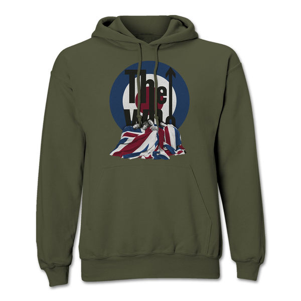 The Who: Union Jack Flag Hoodie