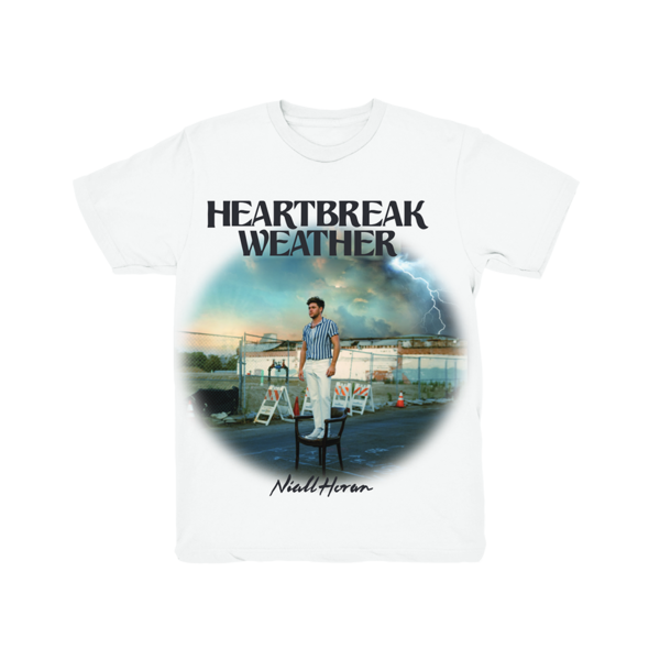 Niall Horan: Heartbreak Weather White T-Shirt