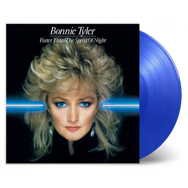 Bonnie Tyler: Faster Than The Speed Of Night Blue Numbered Vinyl