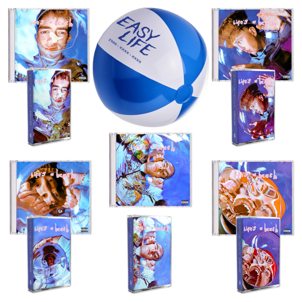 Easy Life: lifes a beach: full board package with beach ball