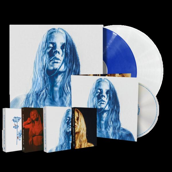 Ellie Goulding: Brightest Blue Super Music Set + Signed Artcard