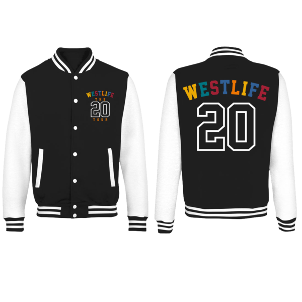 Westlife: Twenty Tour Varsity Jacket