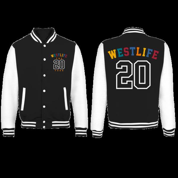 Westlife: Twenty Tour Varsity Jacket
