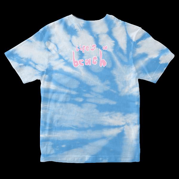 Easy Life: life's a beach: tie dye tee