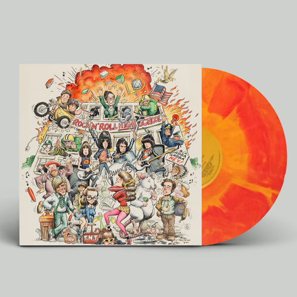 Various Artists: Rock N Roll High School Soundtrack: Tri Colour Fire Vinyl